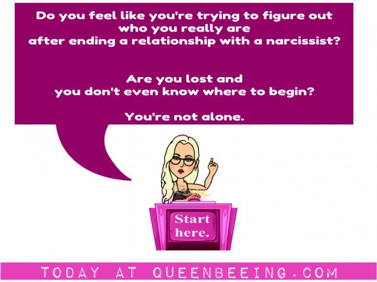 Figure out who you are after narcissistic abuse