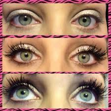 younique lashes modeled