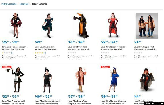My Inner Geek on Why Walmart's 'Fat Girl Costumes' Were (Probably) Google's Fault