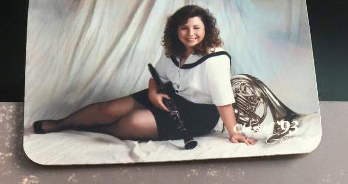 angie high school pic