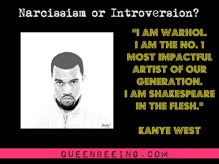 Kanye West Narcissism Quote