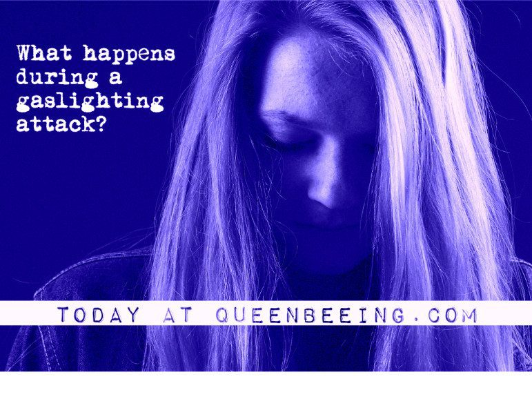 What happens inside a gaslighting attack