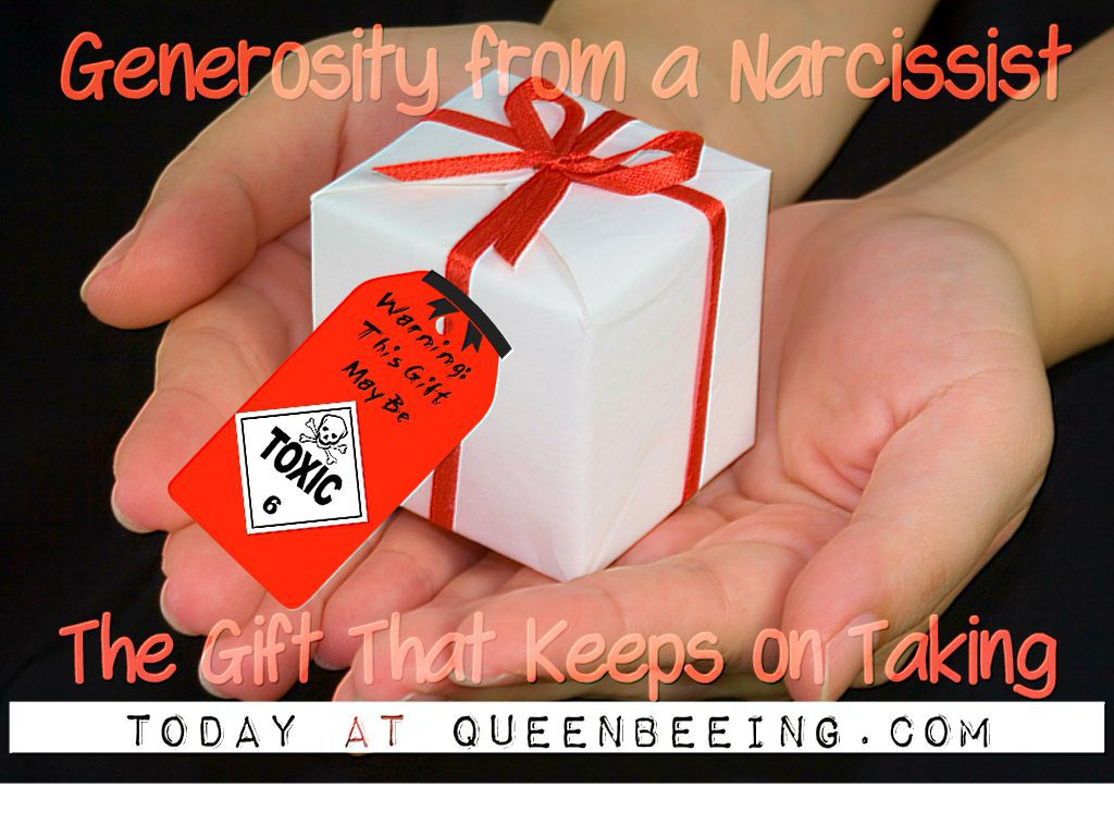 Narcissistic Altruism: The Gift That Keeps On Taking