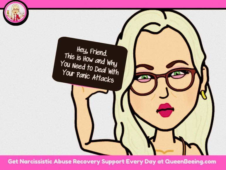 how to deal with panic attacks during and after narcissistic abuse and gaslighting