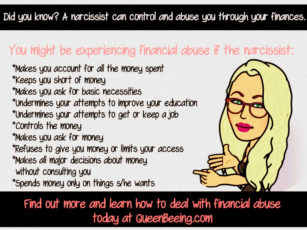 Narcissistic Abuse Recovery: Identifying and Overcoming Financial Abuse