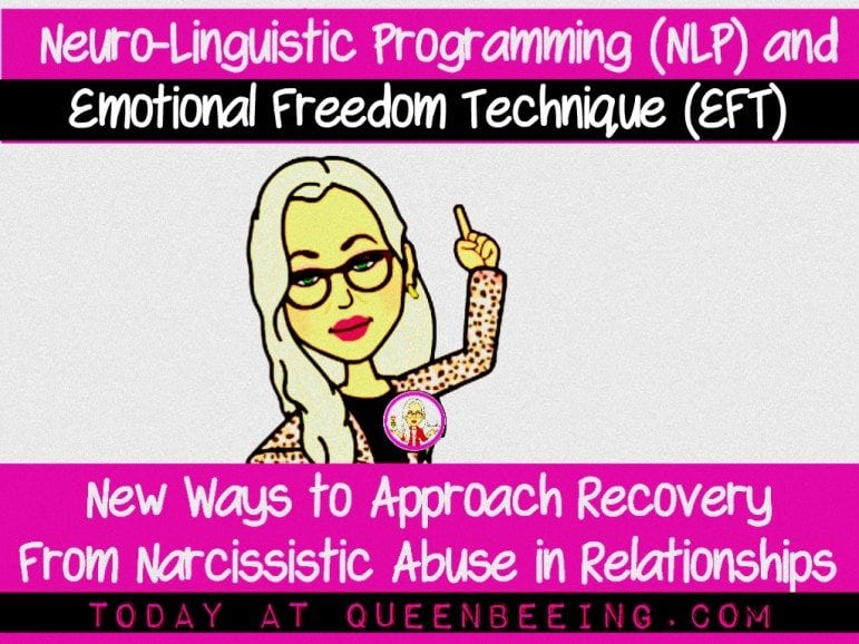 NLP and EFT for Narcissistic Abuse Recovery Stress Reduction