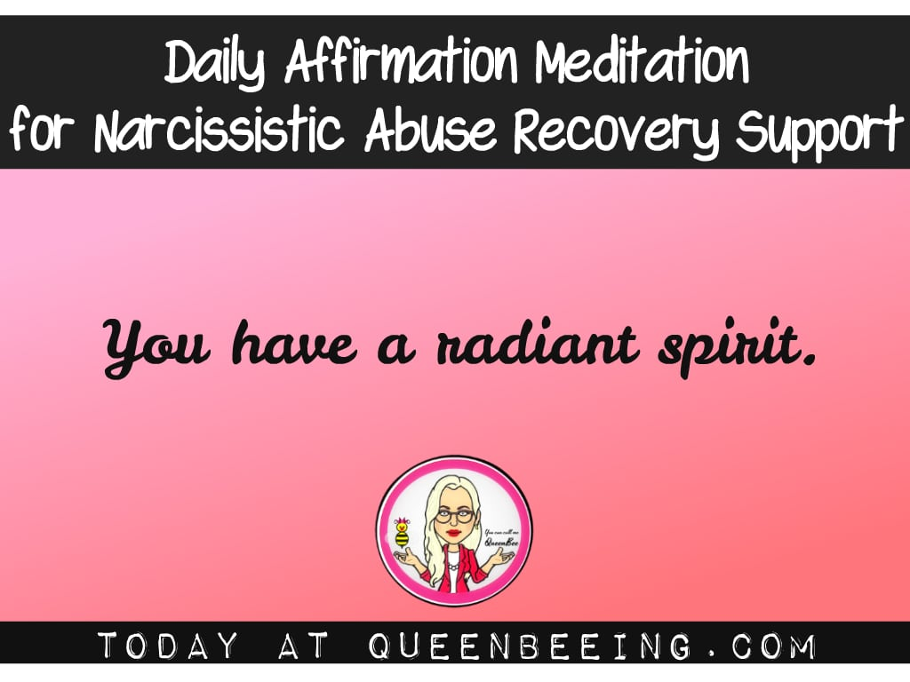 Daily Affirmation Meditation: Radiant Spirit to Overcome Insecurities