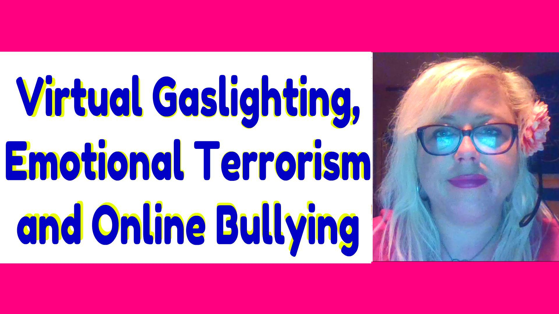 Emotional Terrorism: Narcissists Who Gaslight and Torment You on Social Media