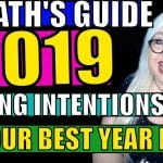 Happy New Year! Set Your Intentions for 2019