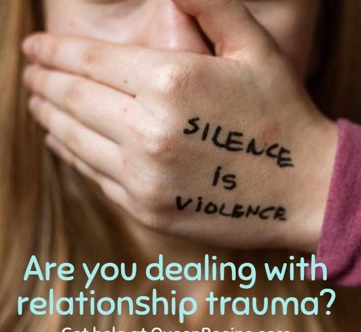 Dealing with relationship trauma